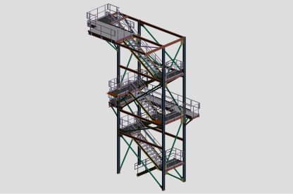 Dry Hog Stair Tower